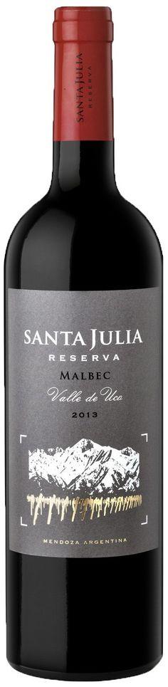 """""""Santa Julia Reserva"""" Malbec 2011 - Bodega Santa Julia, Maipú, Mendoza----------------------- Terroir: Maipú & Valle de Uco----- Crianza: 10 meses en barricas de roble francés de primer, segundo y tercer uso"""