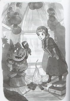 A Warm Welcome is a storybook and the third chapter in the new book series Anna& Elsa: Sisterhood is the Strongest Magic. It continues the adventures of Princess Anna and Queen Elsa, from Disney's Frozen. Olaf has news for Elsa! He has heard of a summer queen with summer magic similar to Elsa's powers from a summer land, who can control fire and heat. He says her land is trapped in an eternal summer. Olaf thinks it sounds great, but Elsa and Anna think she might be in trouble. Either way…