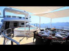 Benetti's Superyacht Diamonds Are Forever - YouTube