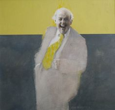Sir John Betjeman  by Brian Denington  Francis Iles Gallery Rochester Copyright remains with the Artist  And Happy Birthday to our wonderful Mum - our Aud xx