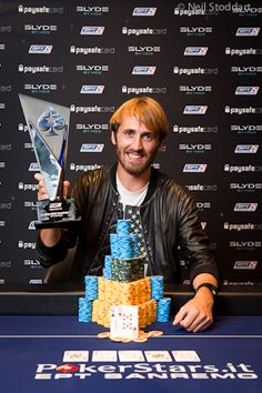 Ludovic Lacay as EPT San Remo champion