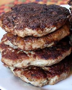 Poultry - 17 Day Diet Turkey Breakfast Sausage (C1) ♡♡DELICIOUS   Might decrease salt a little.♡♡