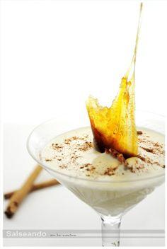 """Salseando en la cocina: Espuma de crema catalana, """"en llamas"""""""