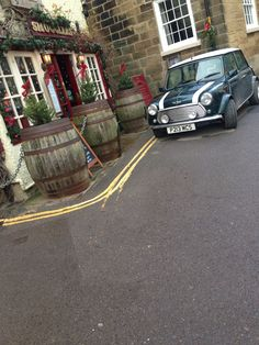 Cute pubs and vintage cars