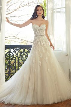 """By Stefania Sainato for Bridal Guide  Bridal Guide's """"Gowns"""" Pinterest board features over a whopping 10,000 stunning styles (and counting). Detachable skirts, sheer styles and modest sleeves eme..."""