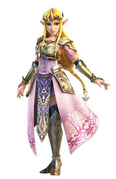 Zelda Hyrule Warriors official art - Release September 26th only for #WiiU - Princess Zelda in her new design will be playable!
