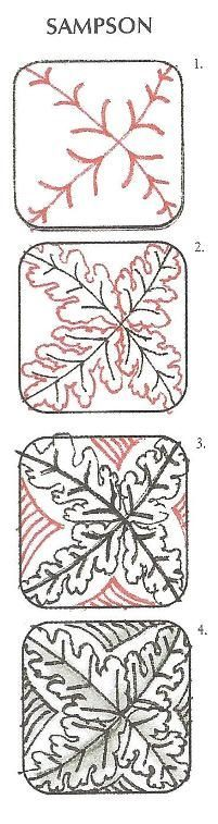 "sampson zentangle | 1000+ images about Zentangle Art - Tangles ""S"" on Pinterest 
