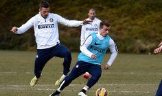 FOTO Shaqiri e Podolski, i volti sorridenti della nuova Inter - Corriere dello Sport.it
