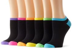 Dance Floor Party Socks - Neon Colors with Black - No Show - Bar Mitzvah, Bat Mitzvah, B'Nai Mitzvah - Wedding - Sweet 16 - Sweet Sixteen - Quinceanera Funky Socks, Colorful Socks, Grippy Socks, Personalized Pillow Cases, Liner Socks, Bat Mitzvah, Neon Colors, Stretchy Material, Decoration