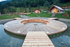 Glamping project made by GLAMPro, resort Herbal glamping Ljubno, Charming Slovenia
