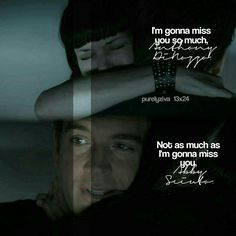 Abby & Tony #NCIS #imgonnamissyouTony