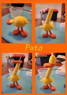tutorial Pato amigo de Pocoyó.
