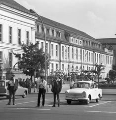 DDR - Opernpalais in Berlin 1969 East German Car, East Germany, Berlin Wall, Street View, History, Automobile, Image, Cars, The East