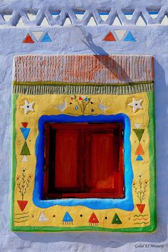 Nubian Home Window