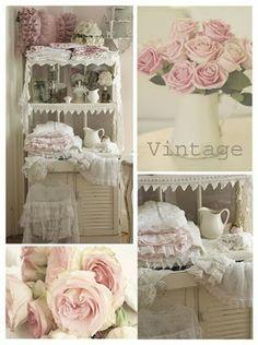 Flowers Fripperies Furnishings:  Vintage.