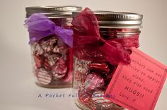 """DIY Valentines for Teacher - """"Teachers can not survive on apples alone, they also need HUGS!"""""""
