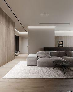 Estilo Interior, Luxury Interior, Modern Interior Design, Interior Architecture, Apartment Interior, Living Room Interior, Home Living Room, Living Room Decor, Home Room Design