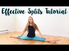 How to do the Splits - YouTube
