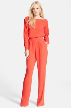 Diane von Furstenberg 'Cynthia' Jumpsuit | Nordstrom, How would you accessorize this? http://keep.com/diane-von-furstenberg-cynthia-jumpsuit-no-by-bnethercutt0114/k/1rSxS-gBDY/