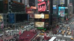 Live web cam of Times Square for New Years Eve.