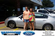 https://flic.kr/p/KMHwxQ | Happy Anniversary to Charity on your #Nissan #Altima from Charity Rosario at Waxahachie Ford! |…