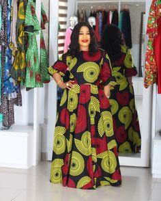African Fashion Dresses, African Dress, African Print Dress Designs, Smart Casual, Flare Dress, Work Wear, Designer Dresses, Iron, Bright