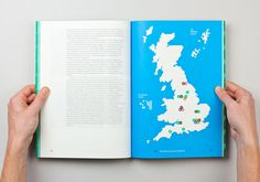 The Fruitful Field, by Maddison Graphic, is an identity and book for the Methodist Church introducing their project of the same name.