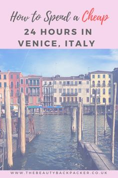 How to spend 24 hours in Venice (and why one day is enough! The best things to do in Venice, tips for a short city break in Venice. How to save money in Venice - I've written a guide to visiting Venice on a budget. Venice Things To Do, Venice In A Day, Visit Venice, Travel Europe Cheap, Italy Travel Tips, Budget Travel, Travel Destinations, Travelling Europe, European Travel