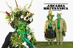"Arcadia Britannica, by Henry Bourne, published by Thames & Hudson at £18.95 - ""Jane Wildgoose, Jack in the Green, from Arcadia Britannica © Henry Bourne"