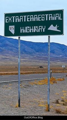 Nevada's Area 51 along the Extraterrestrial Highway is conspiracy theory central and a perfect alien hunting day trip from Las Vegas. Usa Travel Guide, Travel Usa, Travel Guides, Travel Tips, Travel Articles, Budget Travel, Nevada Area 51, Las Vegas Vacation, Vacation Wishes