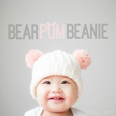 pom pom beanie for baby...free pattern..
