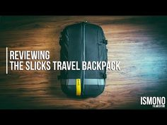 The perfect Carry-On Bag? Reviewing the Slicks Travel Backpack // TECH TALK - YouTube