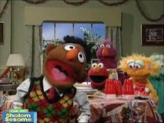 Shalom Sesame: Kingston's House Party (Hebrew and English)