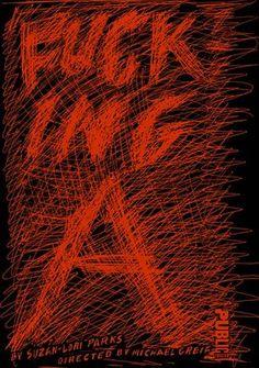 """Paula Scher, Poster for the Public Theater, 2003 Paula Scher, Typography Letters, Typography Design, Hand Lettering, Michael Bierut, Public Theater, Alphabet City, Branding, Hand Type"