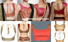 Blouse Neck Designs, latest neck designs for saree blouse and salwar kameez, neck designs, neck blouse designs, blouse neck patterns Blouse Neck Patterns, Blouse Designs High Neck, Sari Blouse Designs, Blouse Styles, Choli Designs, Princess Cut Blouse Design, Embroidery Fashion, Beautiful Blouses, Saree Blouse