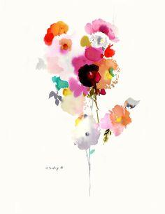 Original watercolor #103 - helen dealtry