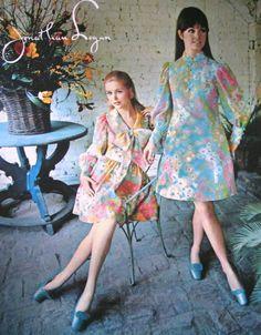 Jonathan Logan dresses in Seventeen, April 1968