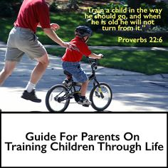 """""""Train a child in the way he should go, and when he is old he will not turn from it."""" #Proverbs 22:6 #ChristianParenting #EnlightiumAcademy"""