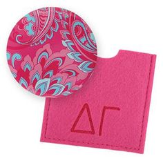 Delta Gamma Button Mirror now available! Shop http://manddsororitygifts.com/products/delta-gamma-button-mirror