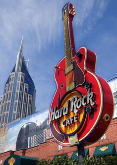 Hard Rock Cafe Nashville TN..stopped here on our way to Orlando.