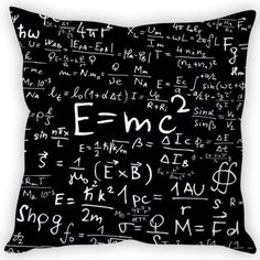 """#DiwaliDecor #FabFurnish One for the science of it. Cool cushion cover from fabfurnish """"Stybuzz Energy Formula Cushion Cover"""""""