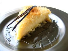 A kadaif pastry is made by putting down a layer of wire kadaif, then a layer of … – stan goodwin 202 – macedonian food Greek Desserts, Desserts To Make, Greek Recipes, Macedonian Food, Savory Pastry, Food Tags, Eastern Cuisine, Fruit Tart, Middle Eastern Recipes