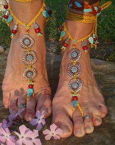 barefoot sandals <3