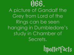 Harry Potter Fact #66...AWESOME!!