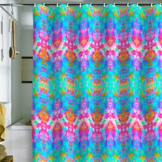 Amy Sia Candy Shower Curtain