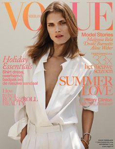 676f5492 The always stunning Malgosia Bela stars on the cover of Vogue Netherlands  July August 2014 issue captured by fashion photographer Annemarieke van  Drimmelen.
