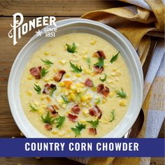 Chowder Soup, Chowder Recipes, Corn Chowder, Corn Recipes, Side Dish Recipes, Recipies, Foods For Bloating, Chili Soup, Instant Pot Dinner Recipes