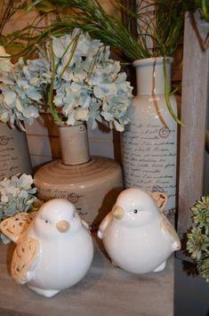 Birdies are always a favorite in Spring Décor!