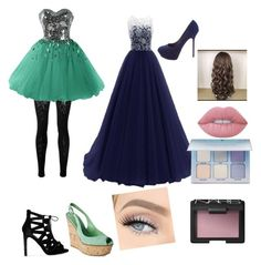 """""""prom night"""" by themeltonkids on Polyvore featuring McQ by Alexander McQueen, Sergio Rossi, Lime Crime, Anastasia Beverly Hills and NARS Cosmetics"""
