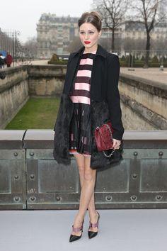 THE OLIVIA PALERMO LOOKBOOK | PFW 2013:Olivia Palermo at Dior